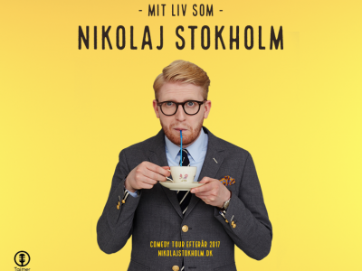 Nikolaj Stokholm på Bygningen i Køge, fredag d. 22. sept. 2017 kl. 20.00