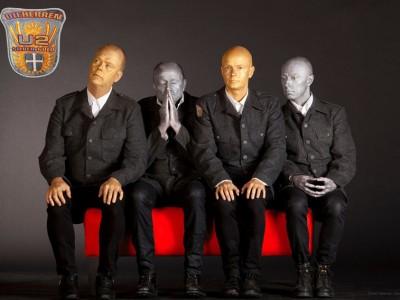Die Herren 25 års jubilæumsshow, U2-SILVER & GOLD. På Musikforeningen Bygningen, fredag d. 10. Marts 2017 kl. 20.00