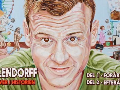 """Christian Fuhlendorff """"Går over i historien"""" - nyt one man show i 2 dele på Musikforeningen Bygningen i Køge"""