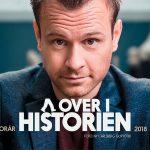 """Christian Fuhlendorff på Musikforeningen Bygningen i Køge. """"Går over i historien"""" Nyt one man show, torsdag den 5. april 2018."""