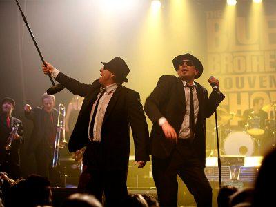 Oplev The Blues Brothers Souvenir Show på Musikforeningen Bygningen Lørdag d. 27. Januar 2018. Billetter til showet kan købes via www.bygningen.dk