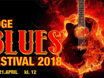 Køge Blues Festival 2018 - lørdag d. 21. april kl. 12 - 19.00 med Ole Frimmer Band, Big Creep Slim & Peter Nande, GRAPE, Blues Overdrive og Nisse Thorbjørn