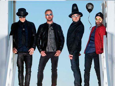 Die Herren Show rammer Musikforeningen Bygningen d. 10. marts 2018. Die Herren - det danske band, med det tyske navn, der spiller irsk musik på engelsk.