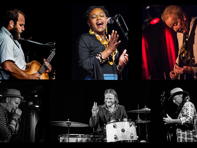 Blues Explosion - på Musikforeningen Bygningen i Køge den 16. november 2019 - Oplev toppen af dansk blues på én aften med 3 af de bedste stemmer i front.
