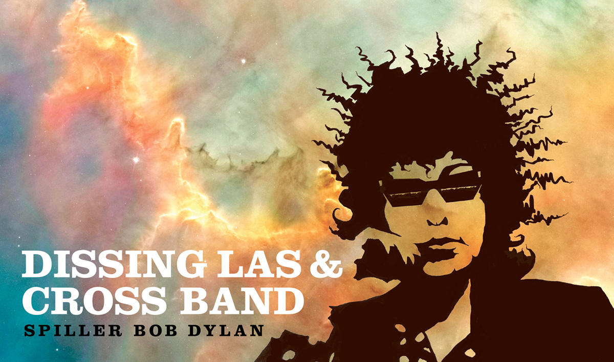 Bob Dylan til Køge - I form af Dissing, Las og Cross der spiller Dylan d. 18. september 2020