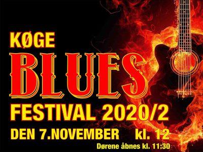 Køge Bluesfestival - efterår 2020, lørdag d. 7. november fra kl. 12.00 til kl. 18.00. Musikforeningen Bygningen inviterer igen til en omgang bluesfestival.