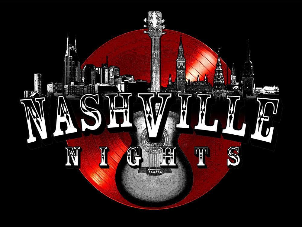 Nashville Nights – en aften med nogle af de største sangskrivere i dansk og amerikansk countrymusik på Musikforeningen Bygningen i Køge den 27. august.