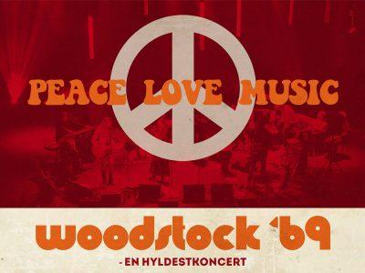 Woodstock '69 – en hyldestkoncert til Woodstockfestivalen på Musikforeningen Bygningen i Køge den 14. november 2020, kl. 20.00.