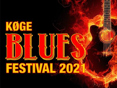 Køge Blues Festival - Efterår 2021. Svedig bluesfestival i Musikforeningen Bygningen i Køge, lørdag den 2. oktober 2021 kl. 12.00.