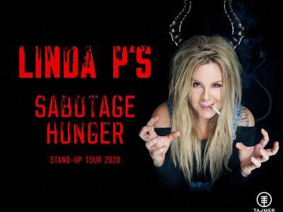 """Linda P - """"SabotageHunger"""" - på Bygningen i Køge, fredag d. 24. september 2021, kl. 19.00. Det er svært ikke at slå ørerne ud, når Linda P deler ud"""