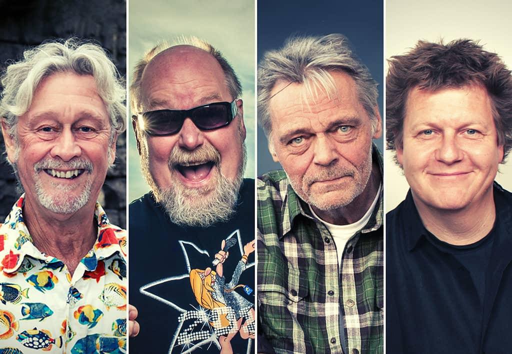 CRAZY IVANS – Fra Folk - til blues - til rock'n Roll. På Musikforeningen Bygningen i Køge fredag den 12. november kl. 20.00.