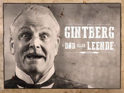 """Danmarks altfavnende comedy enspænder JAN GINTBERG: """"Død eller leende"""" på Musikforeningen Bygningen i Køge, fredag den 20. maj. 2022."""
