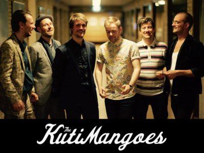 The KutiMangoes spiller et mix af afrobeat og jazz på Musikforeningen Bygningen i Køge den 28. januar 2022 kl. 20.00